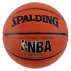 Spalding NBA Street Outdoor Basketball mini