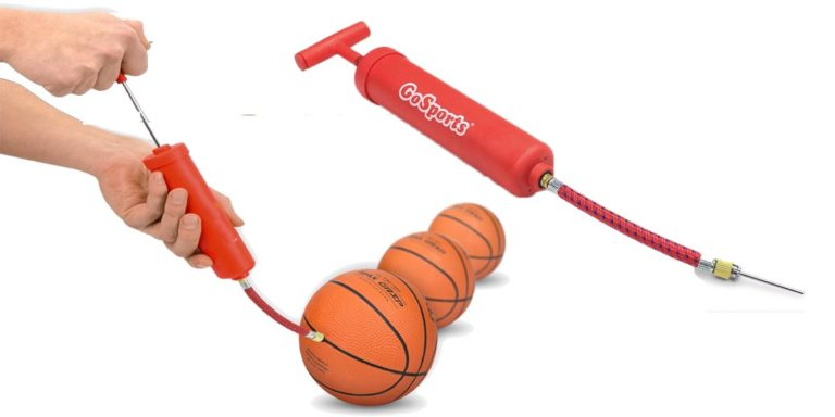 How to pump a basketball