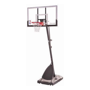Spalding Pro Slam Portable NBA 54 Angled Pole Backboard Basketball System