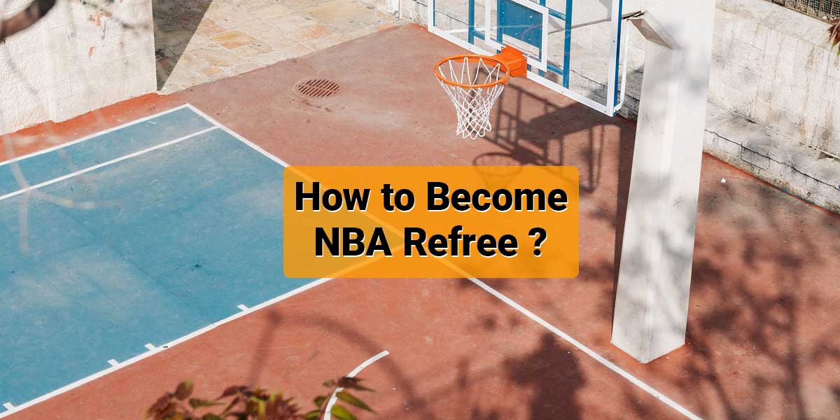 How to become nba referee